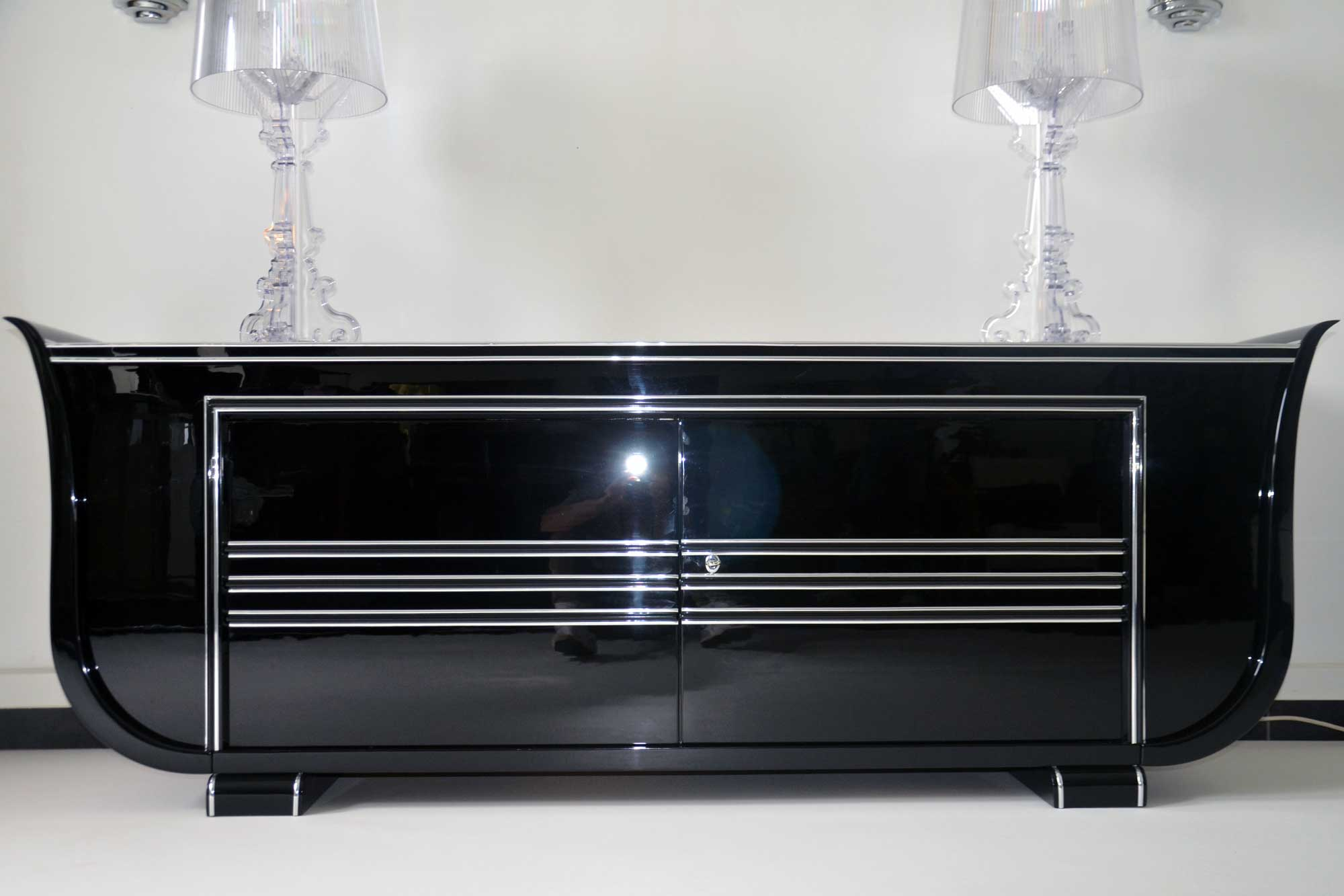 Art Deco Sideboard Panthers Woods