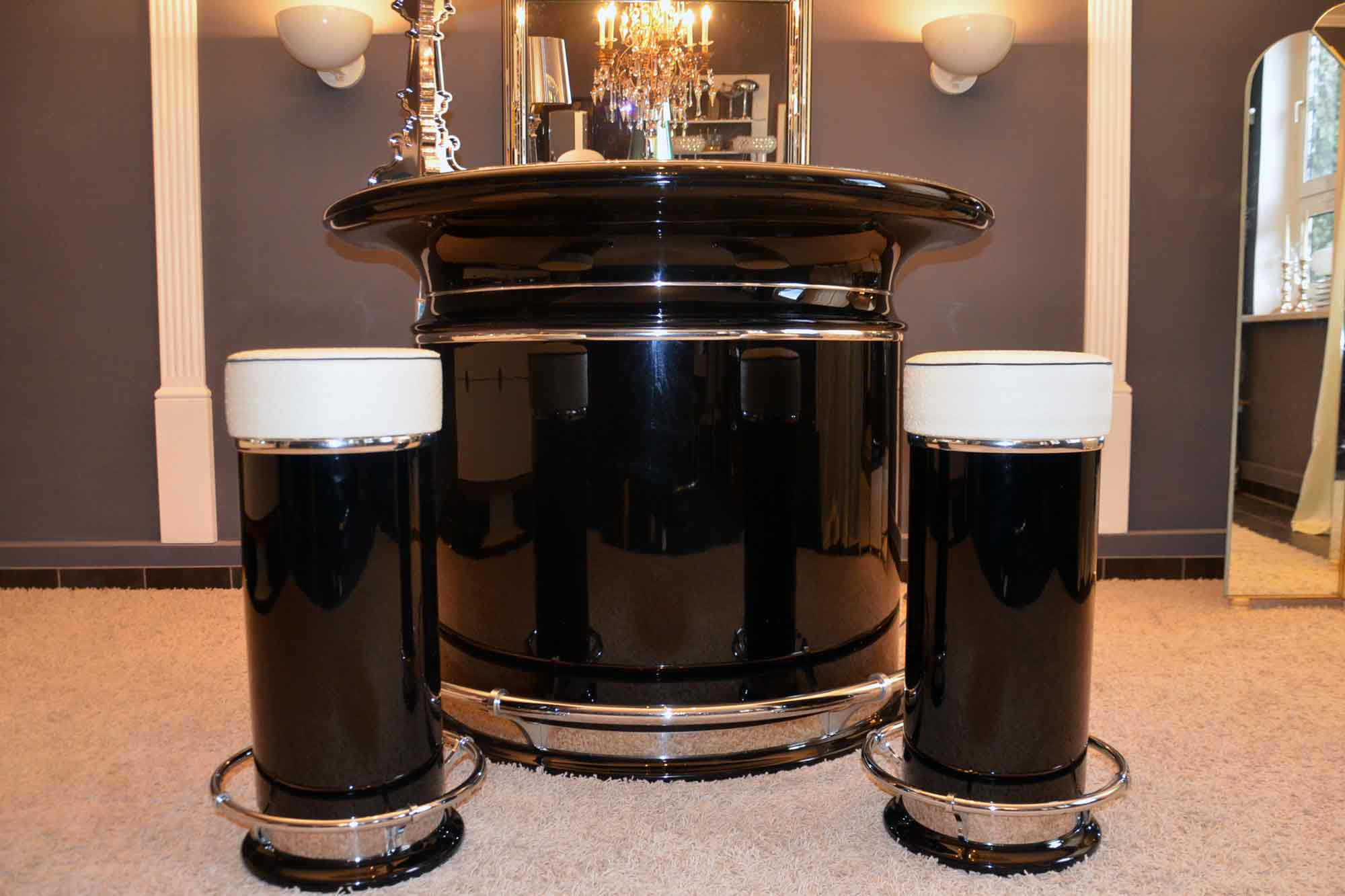 art deco bar artdeco depot. Black Bedroom Furniture Sets. Home Design Ideas