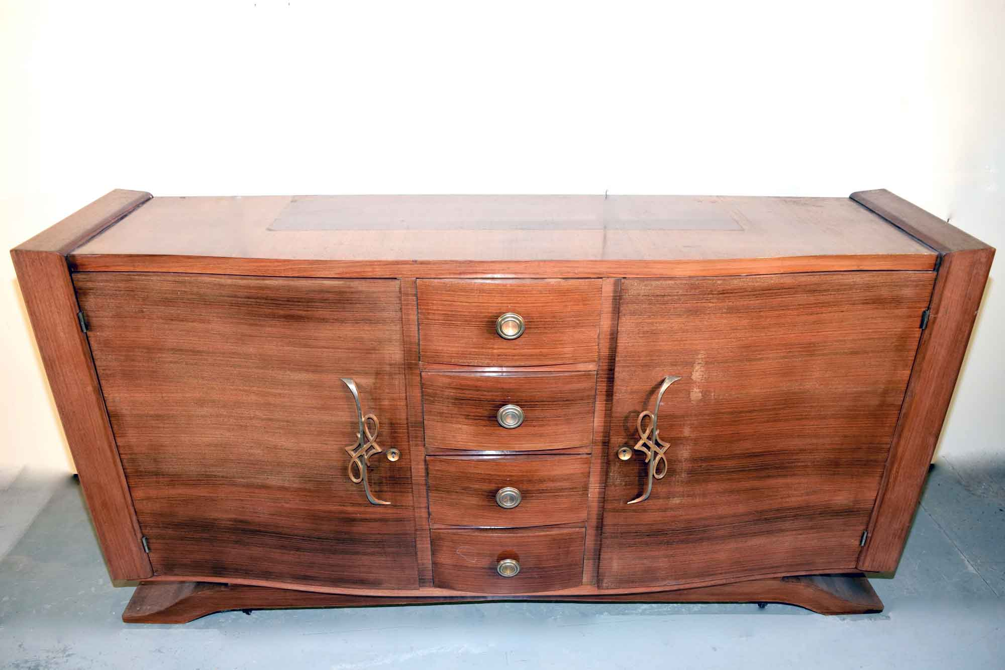 art deco sideboard palisander b190xh100xt52 panthers woods. Black Bedroom Furniture Sets. Home Design Ideas