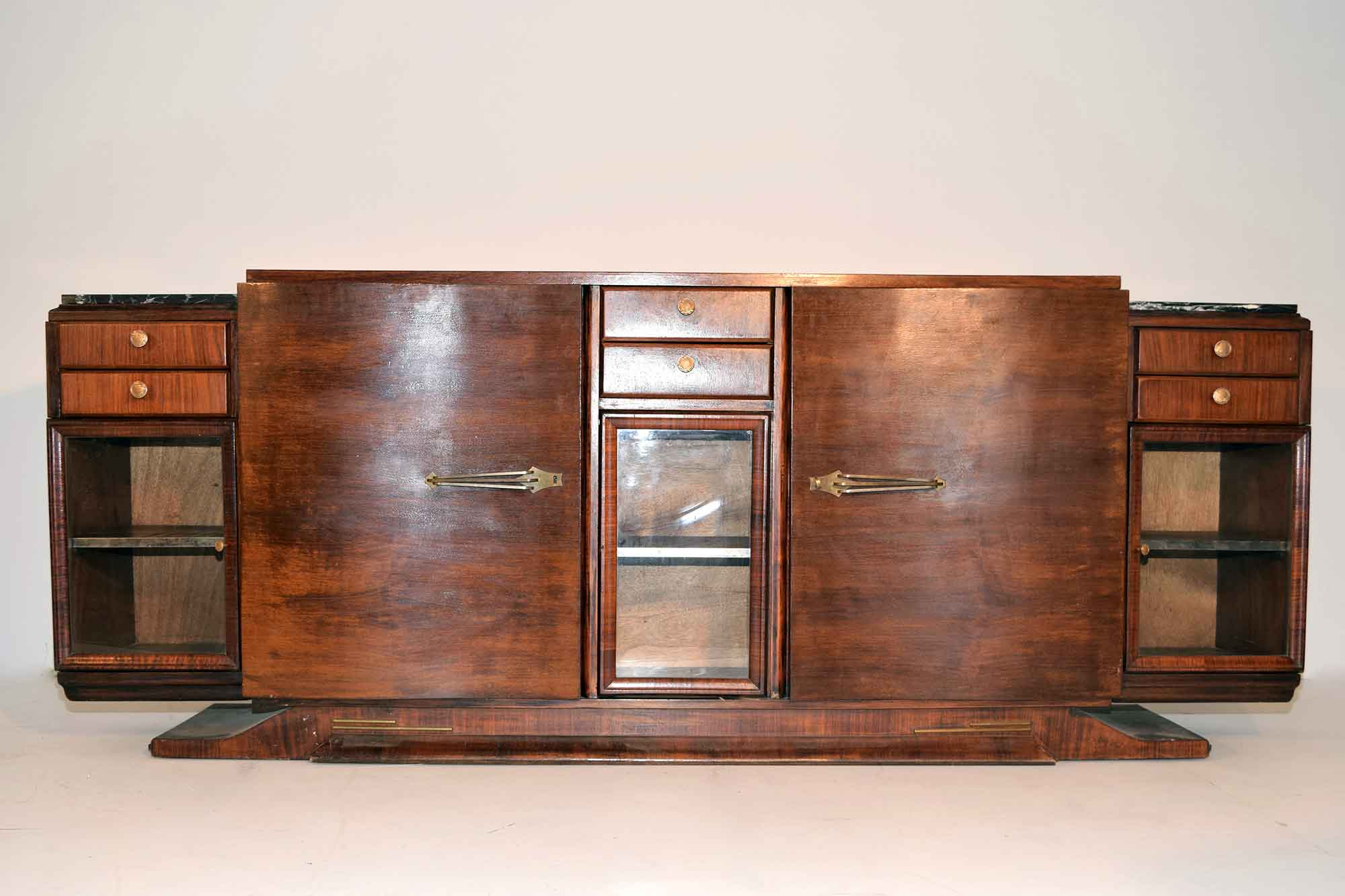 art deco sideboard palisander b250xh98xt53 panthers woods. Black Bedroom Furniture Sets. Home Design Ideas