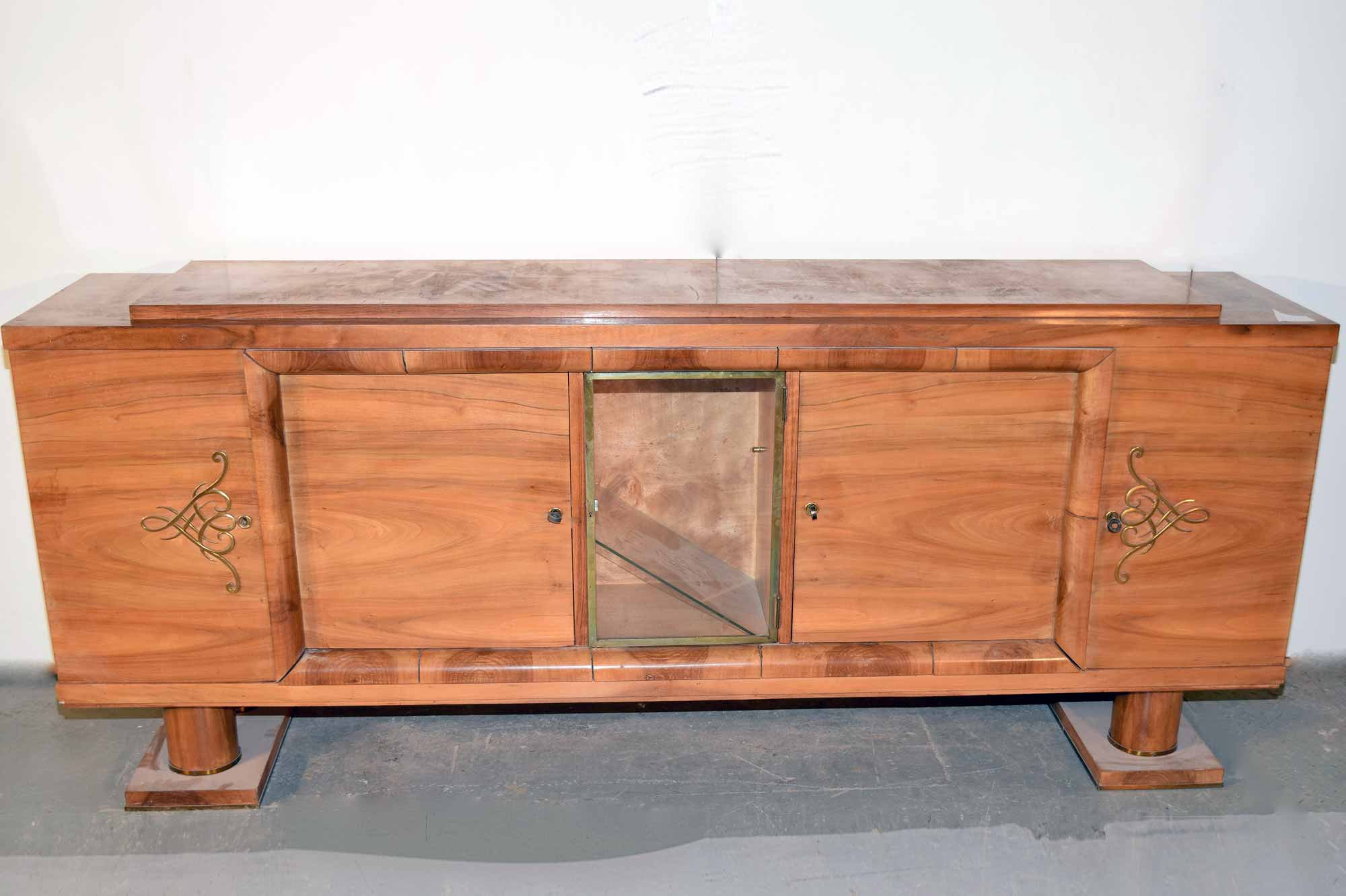 art deco sideboard nussbaum b231xh94xt51 panthers woods. Black Bedroom Furniture Sets. Home Design Ideas