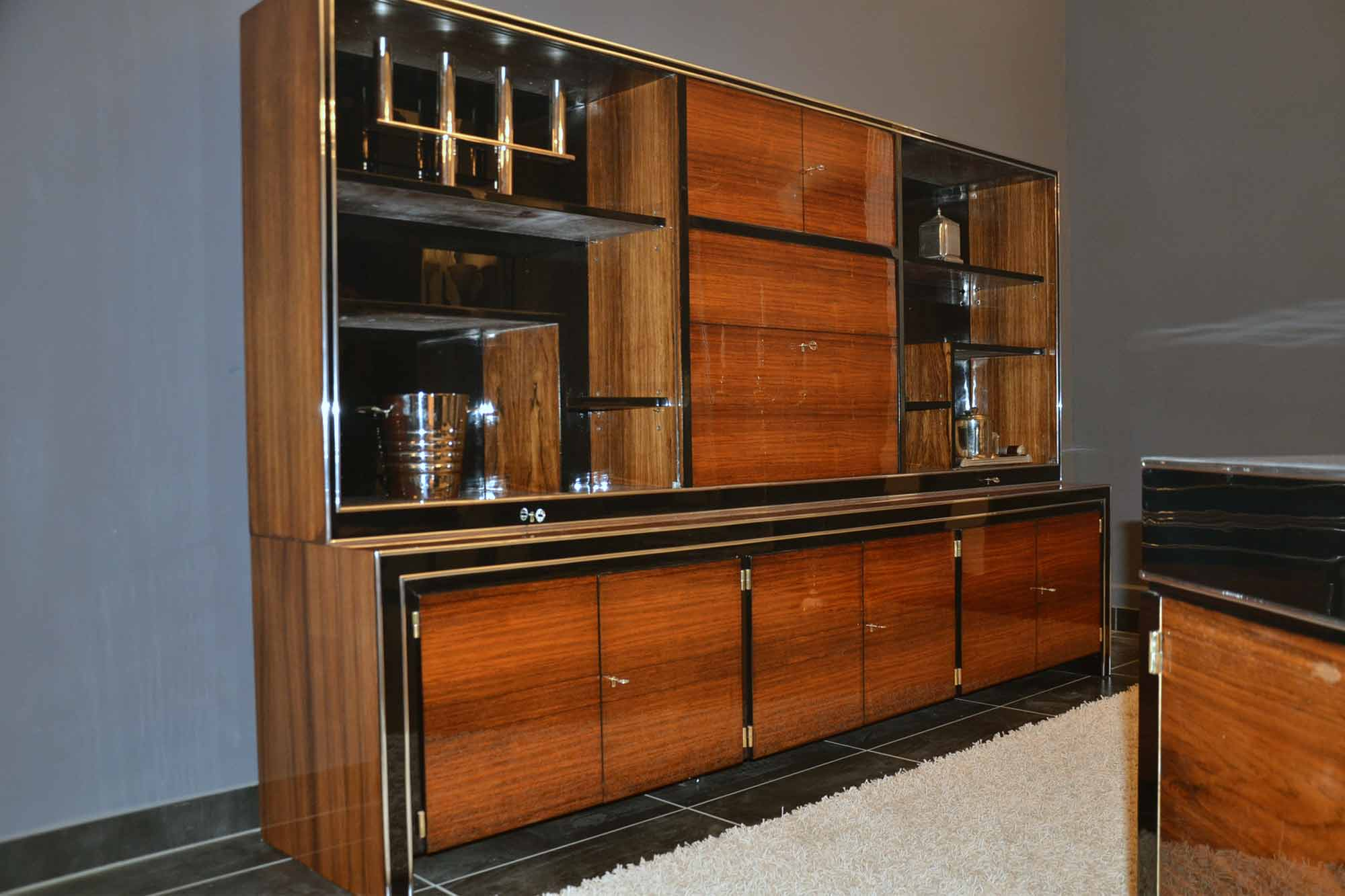 art deco schrank artdeco depot. Black Bedroom Furniture Sets. Home Design Ideas
